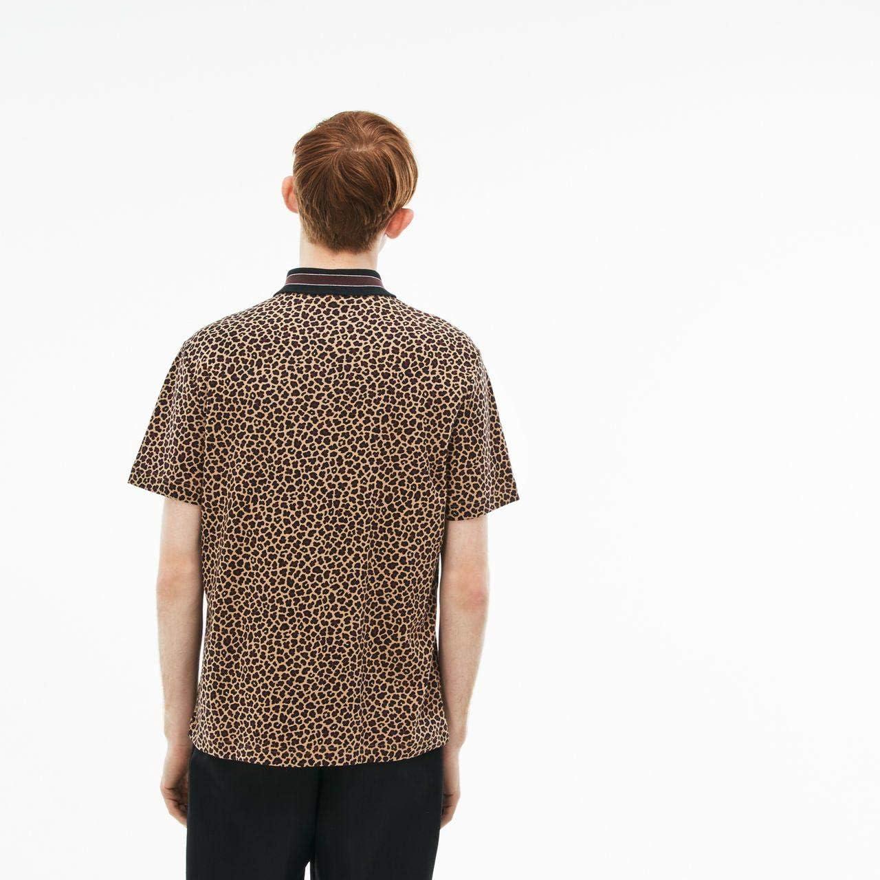 Polo LACOSTE L!VE Men S/S Polo Hombre Leopardo L: Amazon.es ...