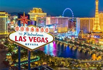 Cartel de bienvenida a Fabulous Las Vegas Nevada de 7 x 5 ...