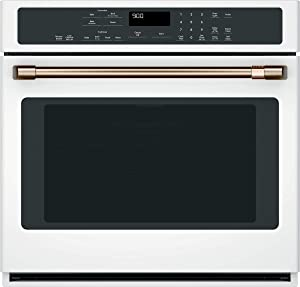 """Café CTS90DP4MW2 30"""" Smart Single Wall Oven with Convection in Matte White"""