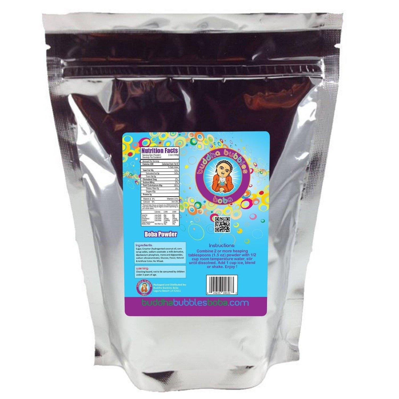 Pina Colada Boba / Bubble Tea Drink mix Powder By Buddha Bubbles Boba 1 Kilo (2.2 Pounds)   (1000 Grams) by Buddha Bubbles Boba