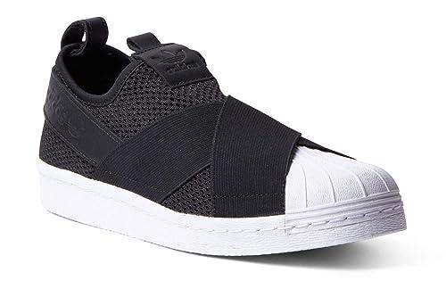 Calzado Hombre ADIDAS Superstar Slip ON en Tejido Negro BY2884: Amazon.es: Zapatos y complementos