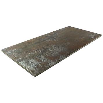 Uberlegen Fliese Metalloptik Wandfliese Braun Bodenfliese Oxido Bronce 30x60cm