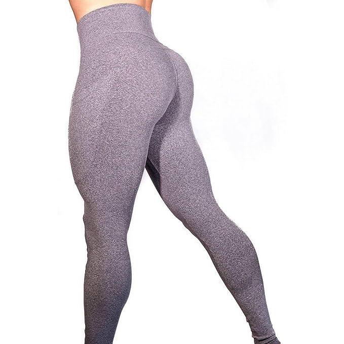 Amazon.com: Mallas de yoga para mujer, pantalones de yoga ...