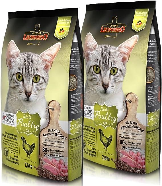 Leonardo Adult GF Poultry 15 kg: Amazon.es: Productos para ...