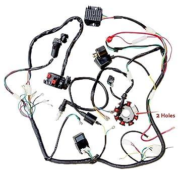 Amazon Com Zxtdr Wiring Harness Kit Wire Loom