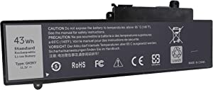 Yongerwy GK5KY Laptop Battery Compatible for Dell Inspiron 11 3147 3148 3152 3157 3158,Inspiron 13 7347 7352 7353 7359,Inspiron 15 7348 7558 7568 Series 04K8YH 92NCT 092NCT 4K8YH P20T