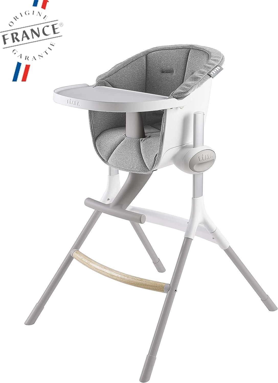 Ikea Antilop Siège Haute pour Enfants Chaise Bébé Tablett Coussin Blanc