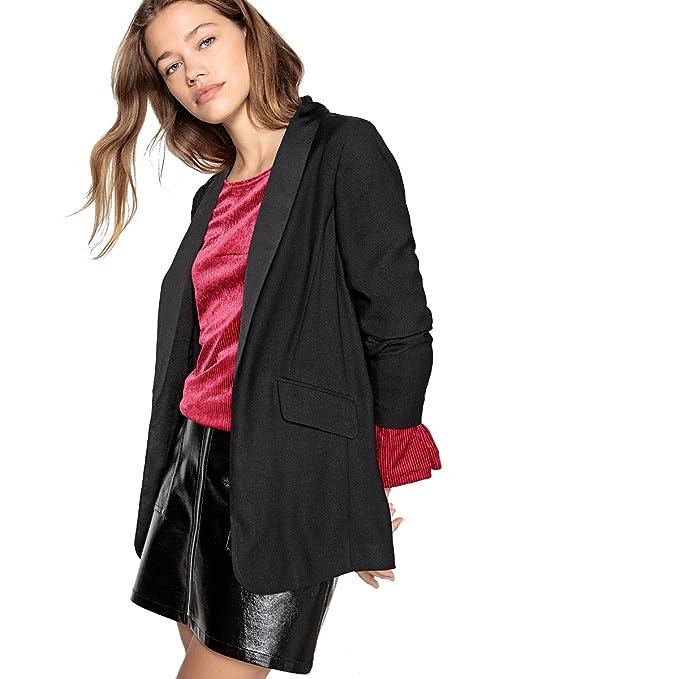 Collections Giacca Abbigliamento Donna it La Redoute Amazon Smoking ZfFqtBnx 944ce7c19bcf