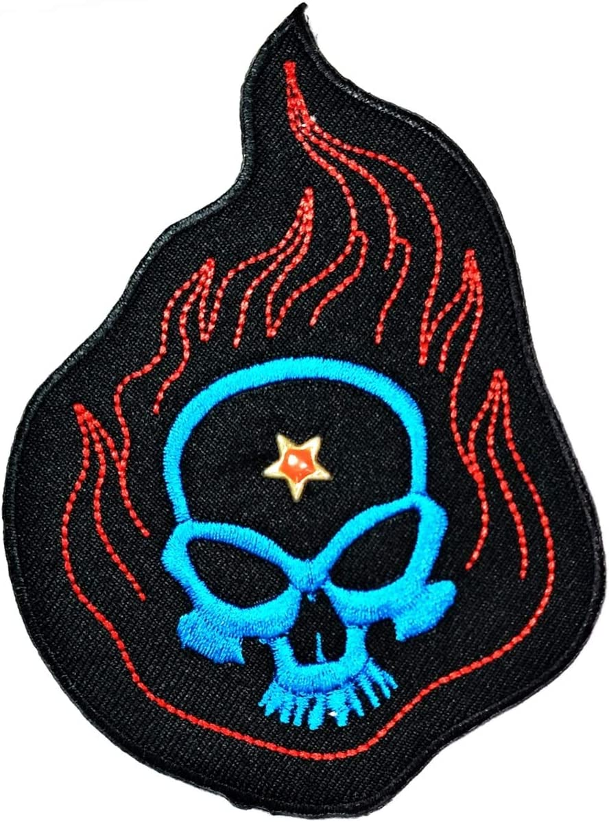 Embroidered Patch Iron-On Sew-On Biker Emblem Decorative Applique ZOMBIES..