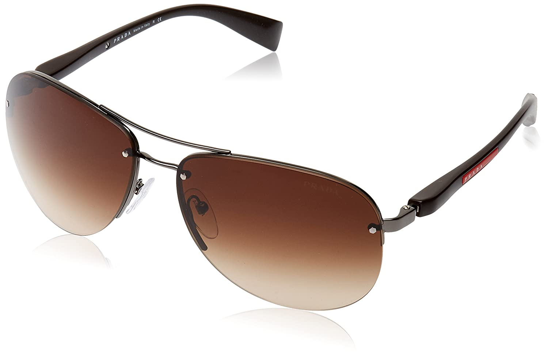 Prada Linea Rossa PS 56Ms (65) Gafas de sol, Gunmetal, Hombre