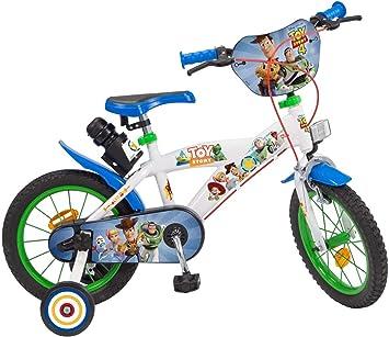 TOIMSA - Bicicleta 14 Pulgadas Toy Story 4: Amazon.es: Juguetes y ...