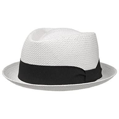 Diamond Cappello di Paglia cappello da sole cappello estivo M 56-57 - bianco d36351f0d6a1
