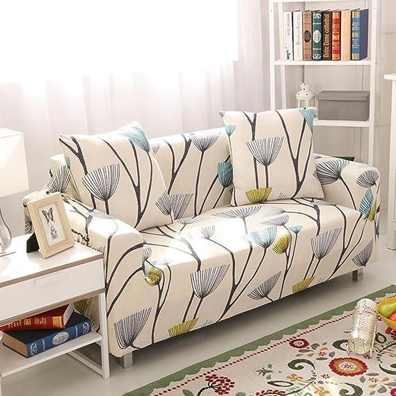 Amazon.com: iisutas - Fundas elásticas para sofá con dos ...