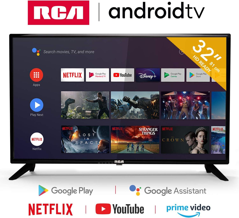 RCA RS32H2 Android TV (32 Pulgadas HD Smart TV con Google ...
