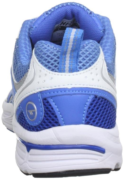 Hi-Tec Dash - Zapatos con cordones de material sintético mujer, color azul, talla 36 (4 UK)