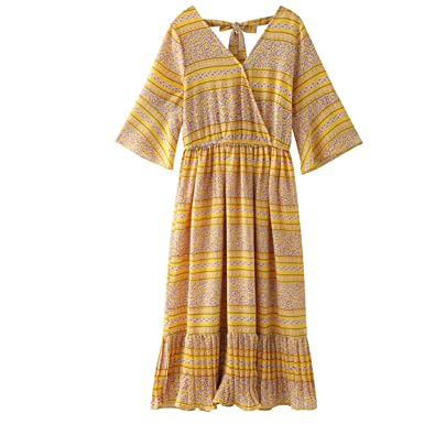 37e438112d558 NT Beach Print Chiffon Maternity Long Dress 2018 Summer Fashion Clothes for  Pregnant Women Pregnancy Holiday Wear at Amazon Women's Clothing store: