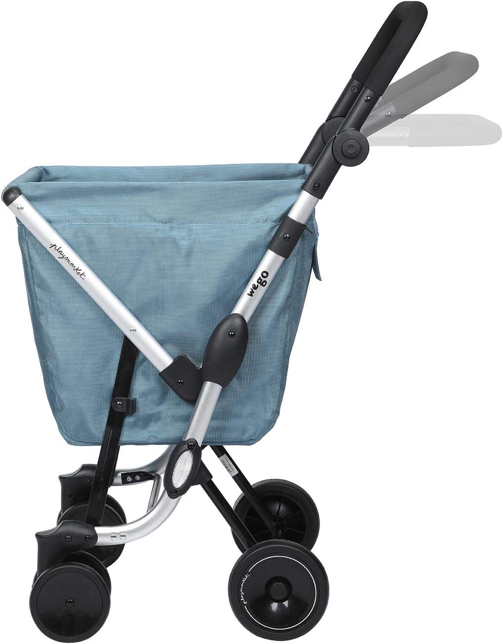 Bleu Playmarket We Go Basic Valise 97 cm Mist 50 liters