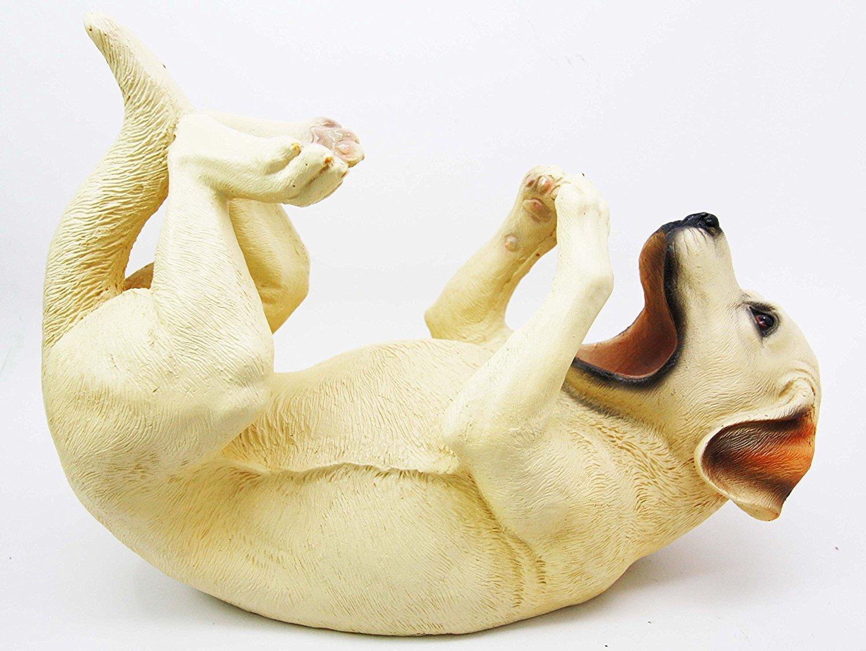 Atlantic Collectibles Labrador Retriever Canine Dog 10.5 Long Wine Bottle Holder Caddy Figurine