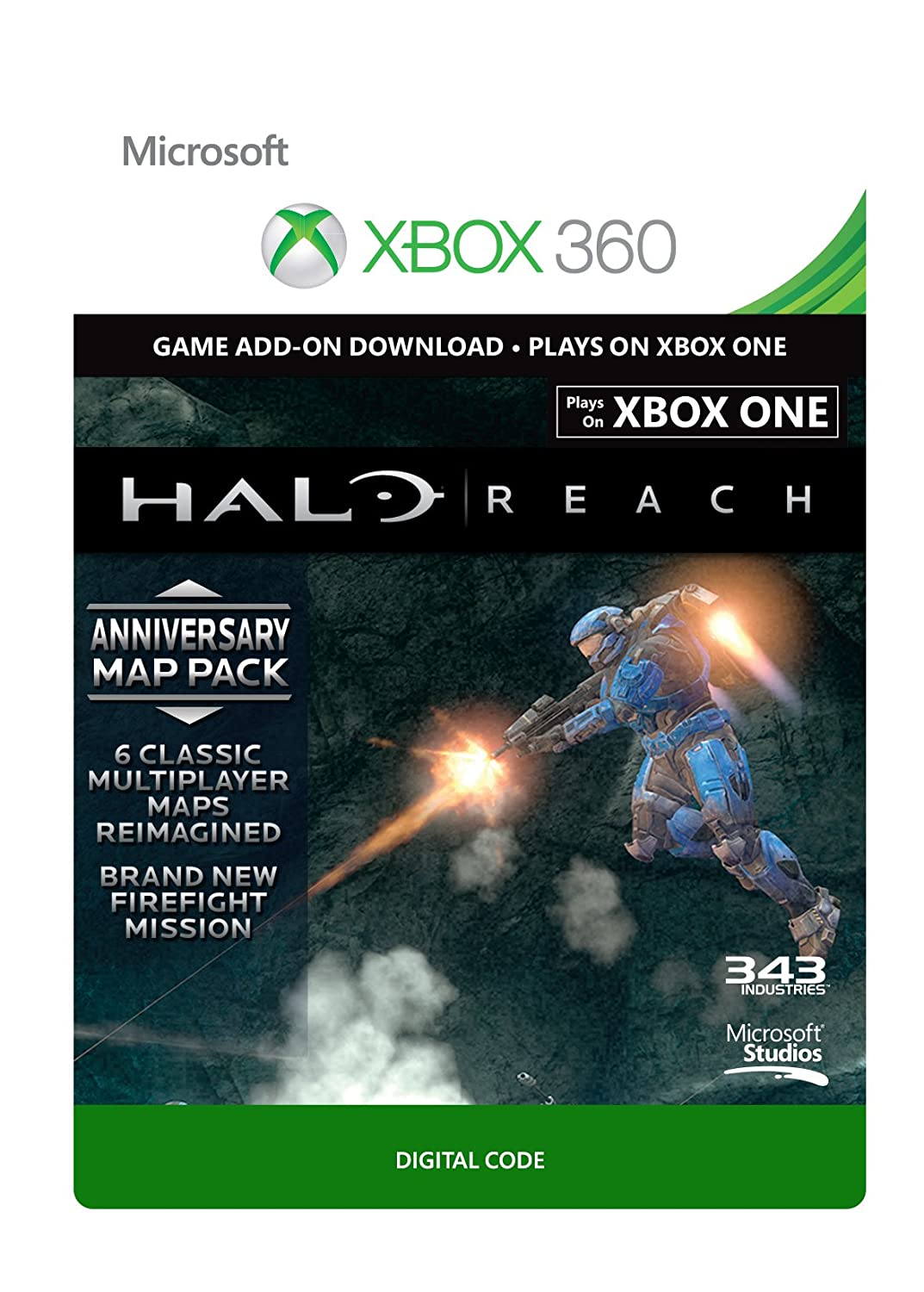 Halo Reach: Anniversary Map Pack [Xbox 360 - Download Code