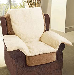 Lancashire Textiles Pressure Reduction Back Support Chair Nest Fleece Cosy  SPARE Cover (COVER ONLY)