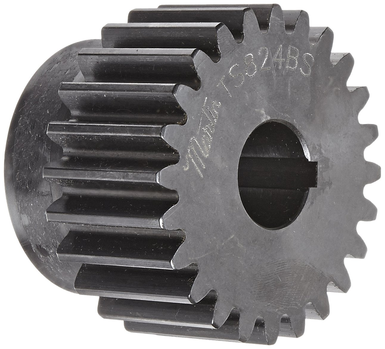 Steel Spur Gear 1.250 Pitch Dia. 16 Pitch In. Number of Teeth: 20