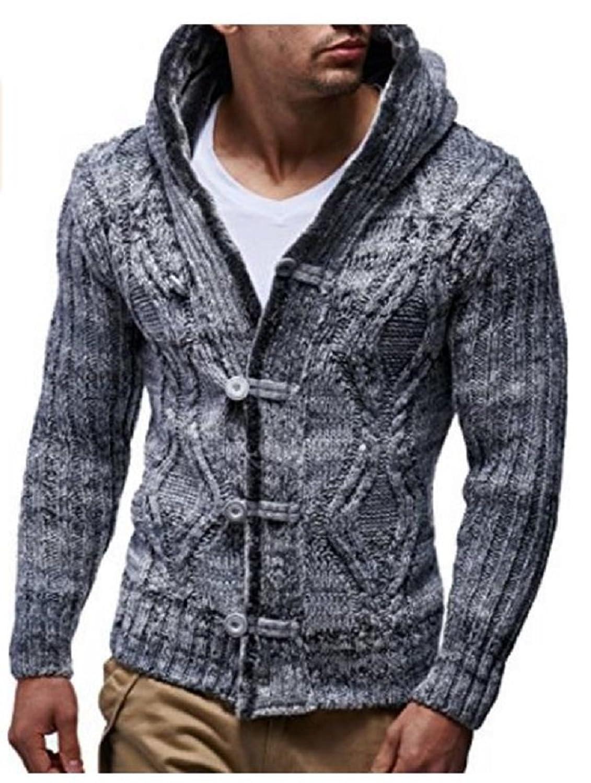 Gilet wool mesh jack grey