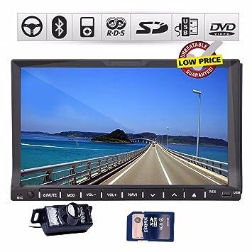 Ouku - Dispositivo de pantalla táctil HD para coche de 7 pulgadas de doble DIN (