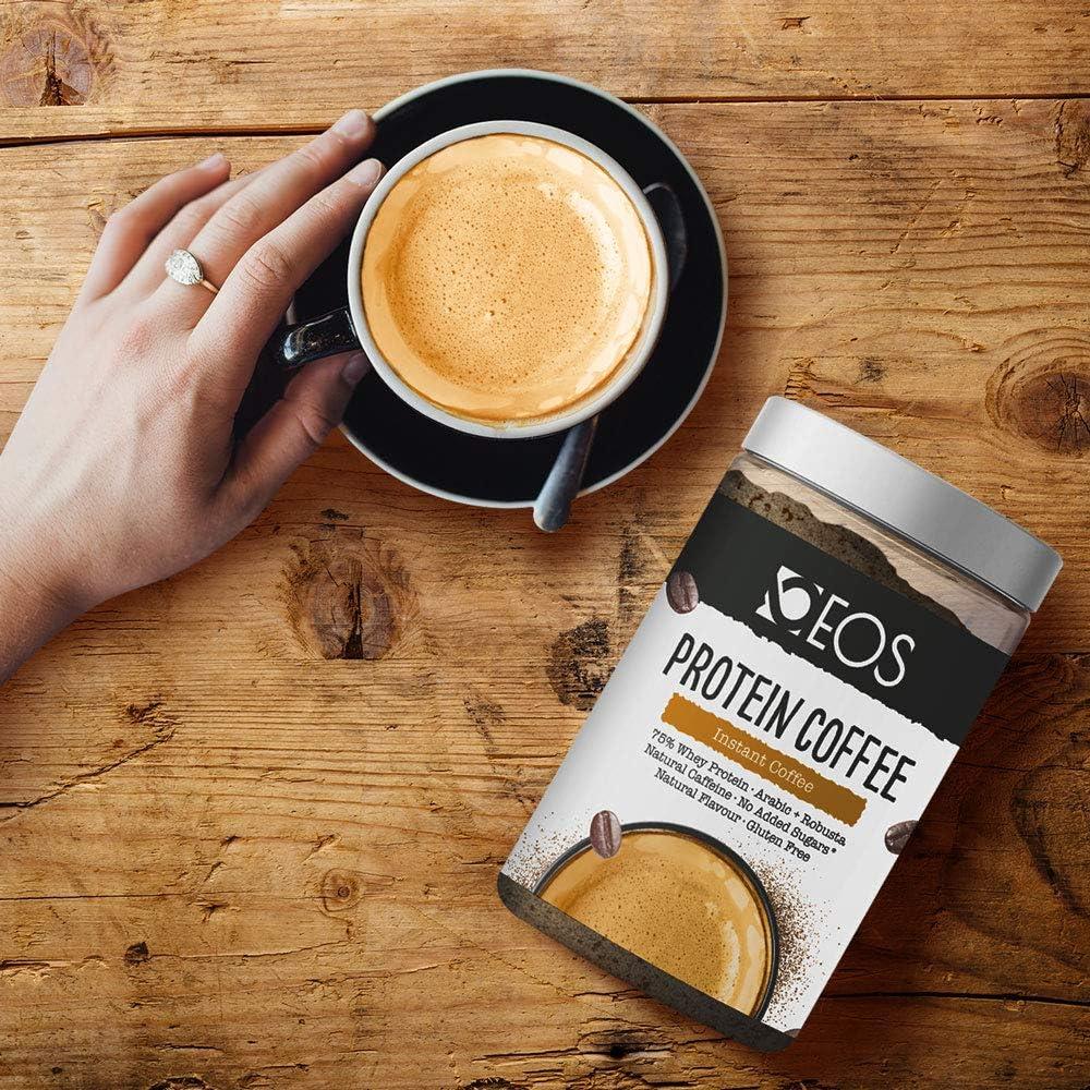 EOS - Café Proteico 150 g - Café con Proteína Whey sin azúcar ...