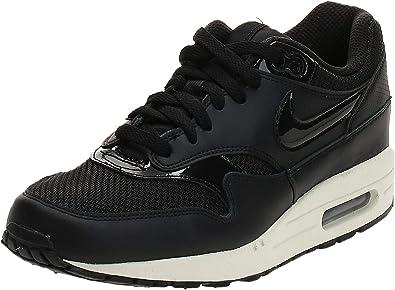 Nike Air Max 1 W Trainers Women Black