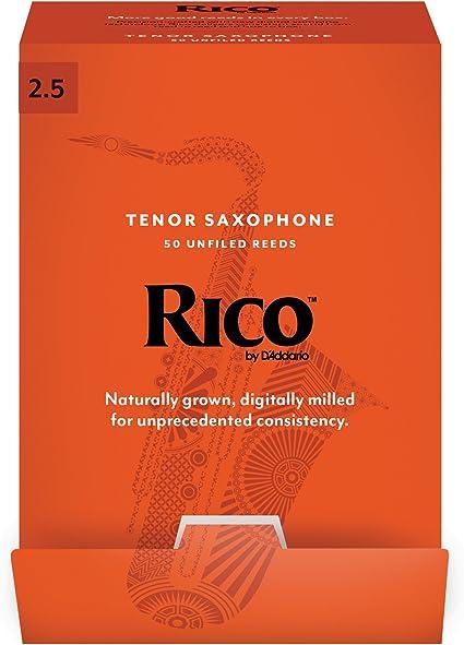3 Pack Rico Alto Saxophone Reeds # 2 Strength 2 RJA0320