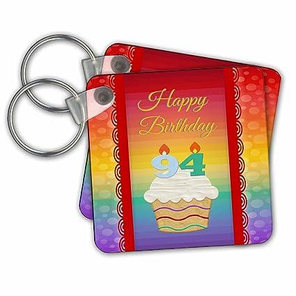 3dRose Cupcake con número velas, 94 años Old cumpleaños ...