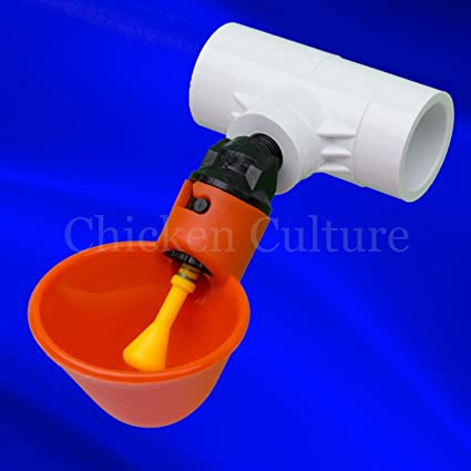 10 Pack Poultry Water Drinking Cups-Chicken Hen Automatic Drinkers /& Fittings