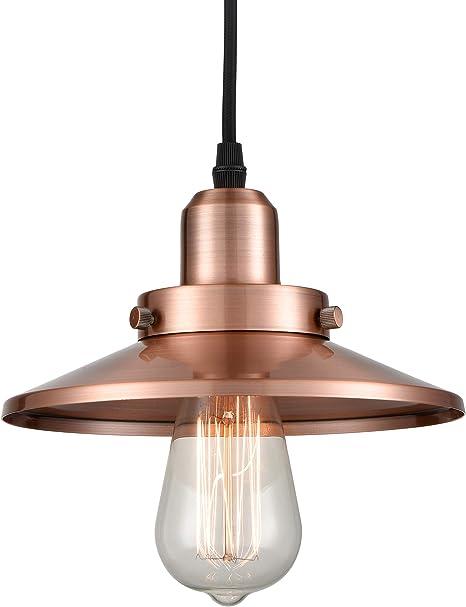 Blanco LED L/ámparas de Iluminaci/ón de Dormitorio,Habitacion,Casa TJW,Lampara Moderno Hierro para Pared,Luz E27 Bombilla Edison