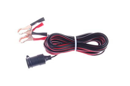 Phenomenal Knacro Cigarette Lighter Plug Extension Cable With Alligator Clip Wiring Digital Resources Inamapmognl
