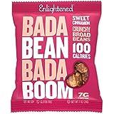 Bada Bean Bada Boom - Plant-Based Protein, Gluten Free, Vegan, Crunchy Roasted Broad (Fava) Bean Snacks, 100 Calories per Ser