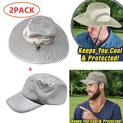 317942f69 Amazon.com: 2019 New Cooling Sun Hat, Arctic Hat Ice Hat Wide Brim ...