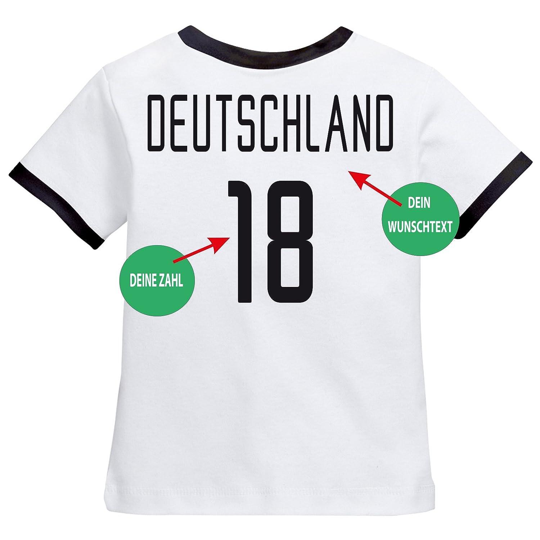 newest d8a5d d273b Deutschland Kinder BABY BODY Größe EM T-Shirt Trikot - Druck ...