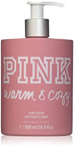 Victoria's Secret PINK Warm & Cozy Body Lotion W/Pump 16.9 oz