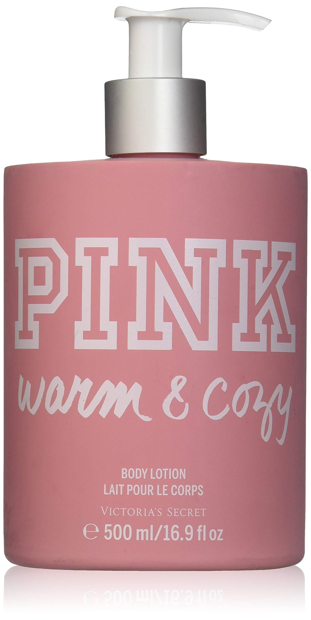 fbcf3e4b51 Amazon.com   Victoria s Secret PINK Warm   Cozy Body Lotion W Pump 16.9 oz    Pink Warm And Cozy Body Lotion   Beauty