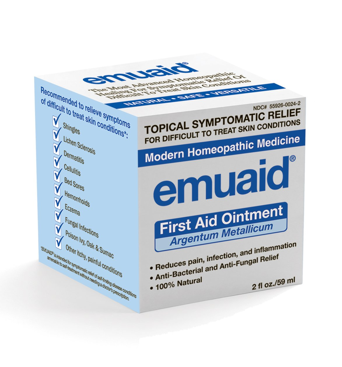 Emuaid© Natural, Pain Relief Ointment. by Emuaid