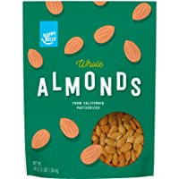Deals on Amazon Brand Happy Belly Whole Raw Almonds 48oz