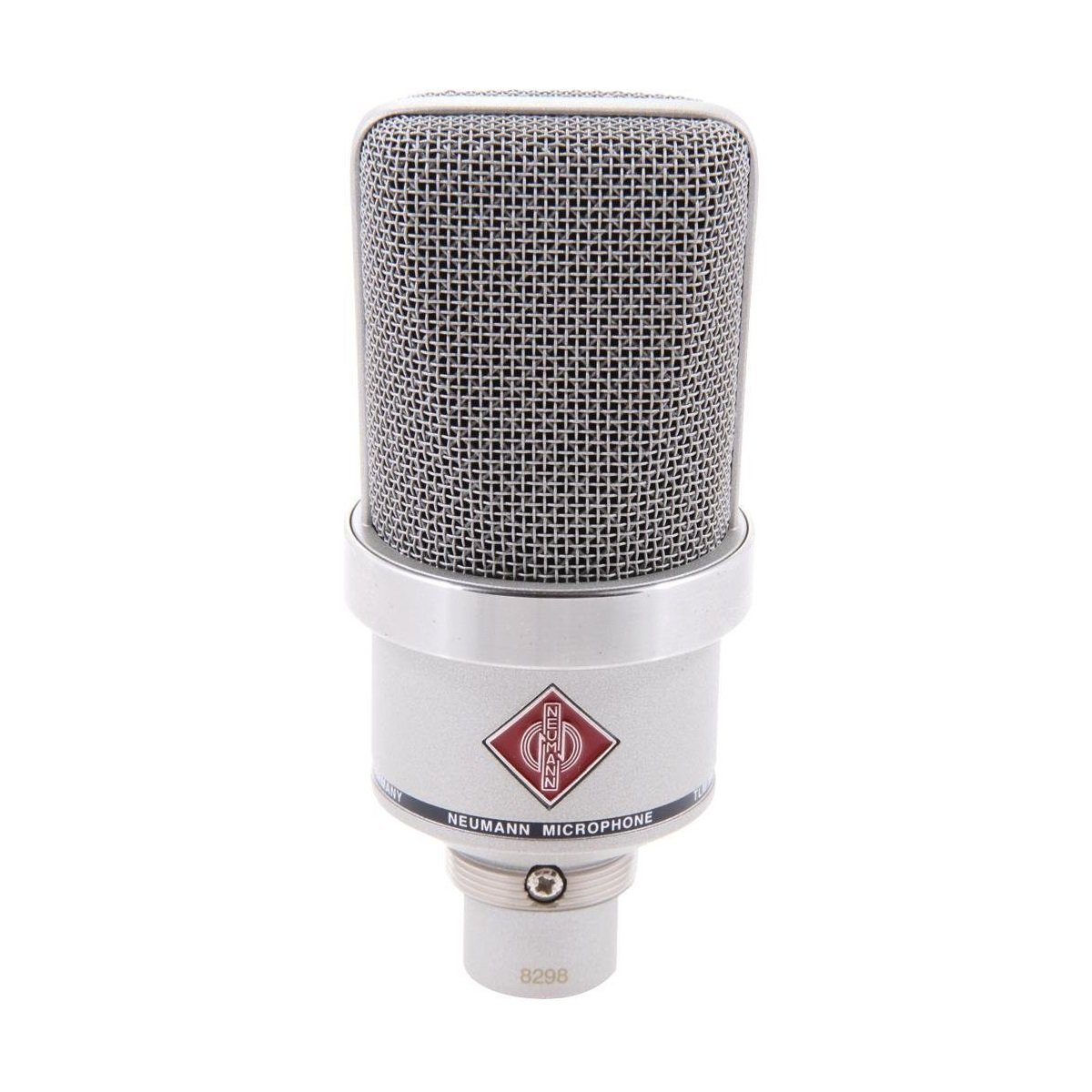 Neumann Tlm 102 Studio Set Cardioid Large Diaphragm Electronic Integrated Circuits Popscreen Condenser Microphone Nickel Computers Accessories