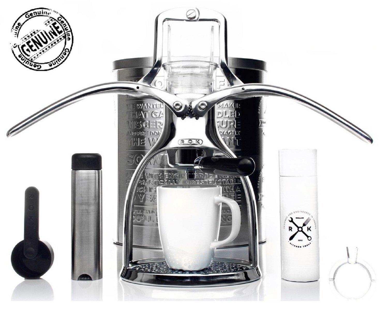 inkl. Milchaufsch/äumer ROK Espressomaschine Presso