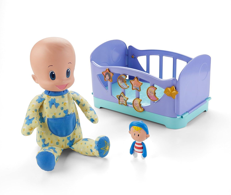 Cleo & Cuquin Muñeco Cuquín ¡Vamos a la cama! (Mattel GNB43)