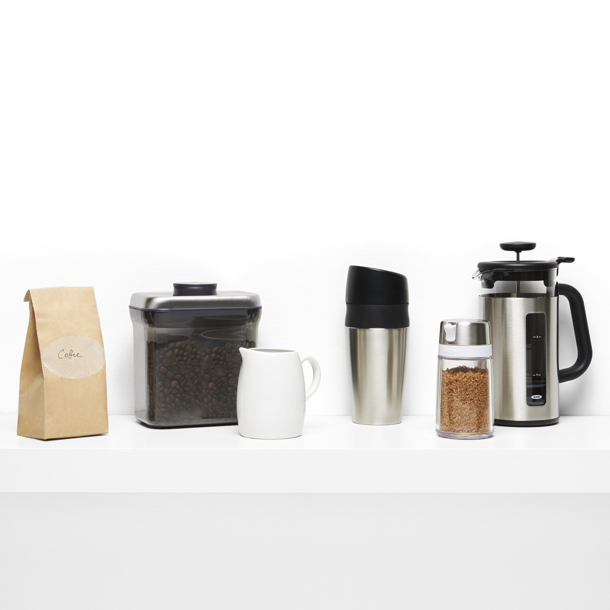 Stainless Steel Restaurant Sugar Dispenser With Side Spout