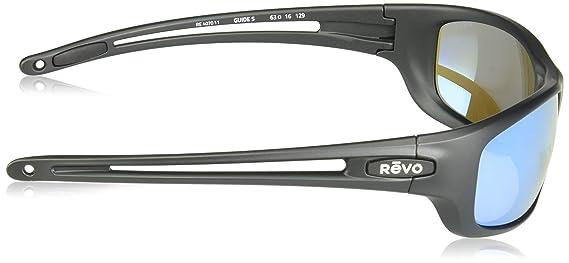 ce71cbb61c5 Amazon.com  Revo Guide S RE 4070 11 BL Polarized Wrap Sunglasses ...