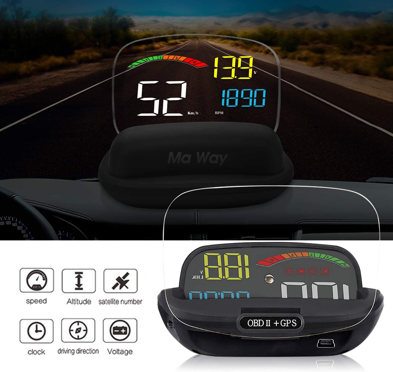 Head Up Display Auto Hud Gps Obd2 Mit Digital Elektronik