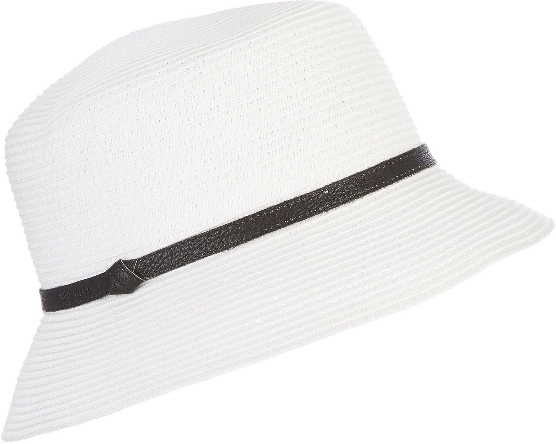 Nine West Womens Microbrim Hat One Size White