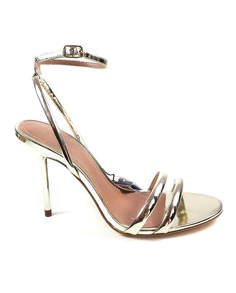 bc80c5aad Zara Women's Golden strappy high heel sandals 1550/201 (36 EU | 6 US ...