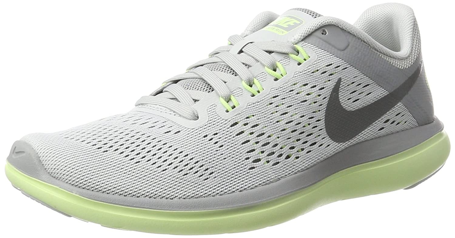 NIKE Women's Flex 2016 Rn Running Shoes B01I4CL6FI 11 B(M) US|Pure Platinum/Cool Grey/Wolf Grey